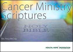 Cancer Ministry Scriptures