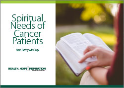 Spiritual Needs of Cancer Patients