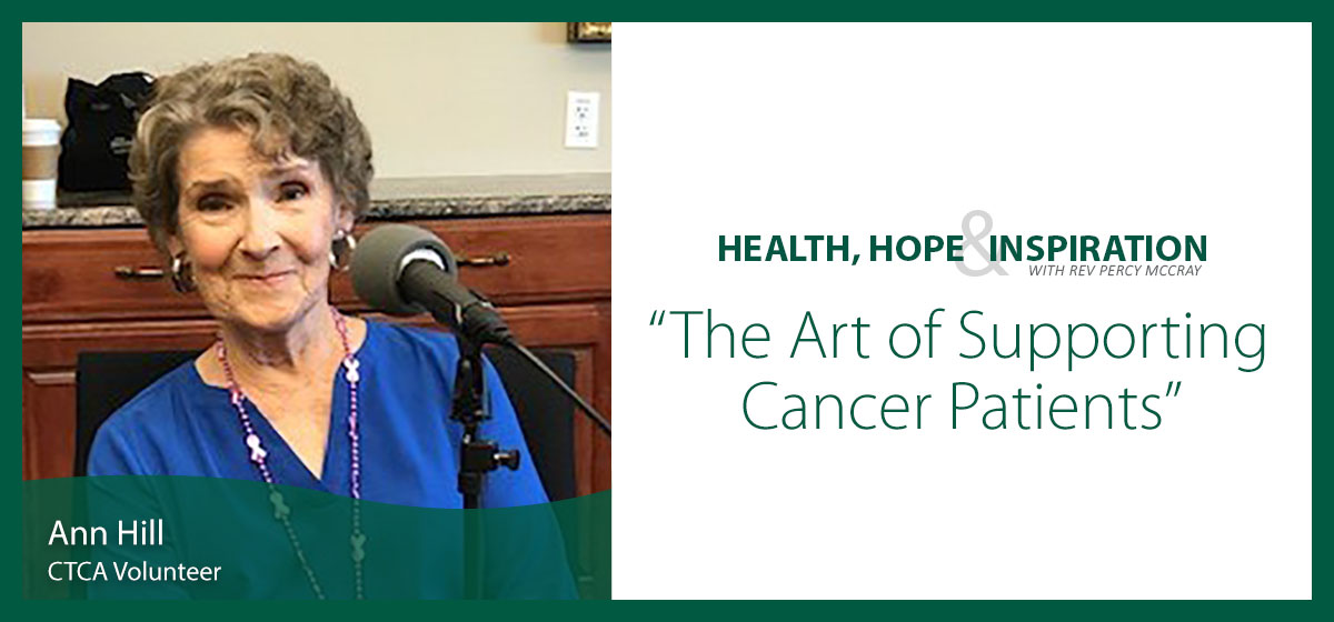 The Art of Supporting Cancer Patients