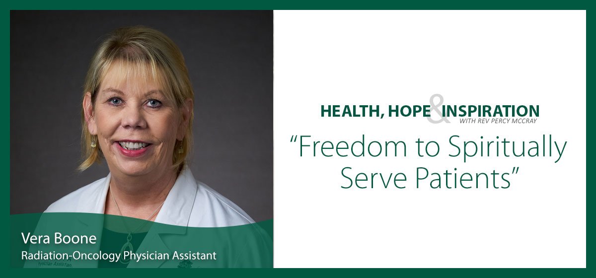 Freedom to Spiritually Serve Patients