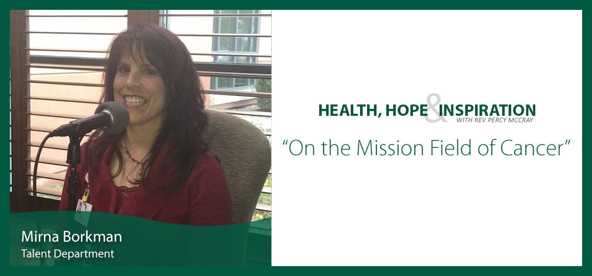 On the Mission Field of Cancer