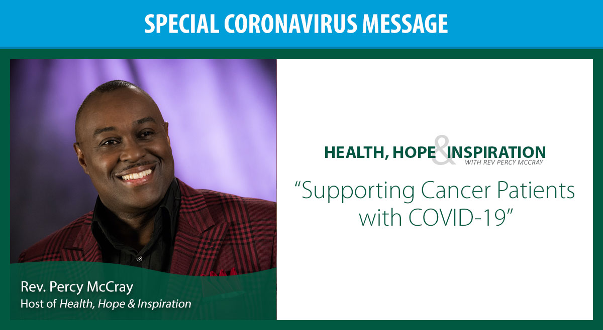 Supporting Cancer Patients with COVID-19