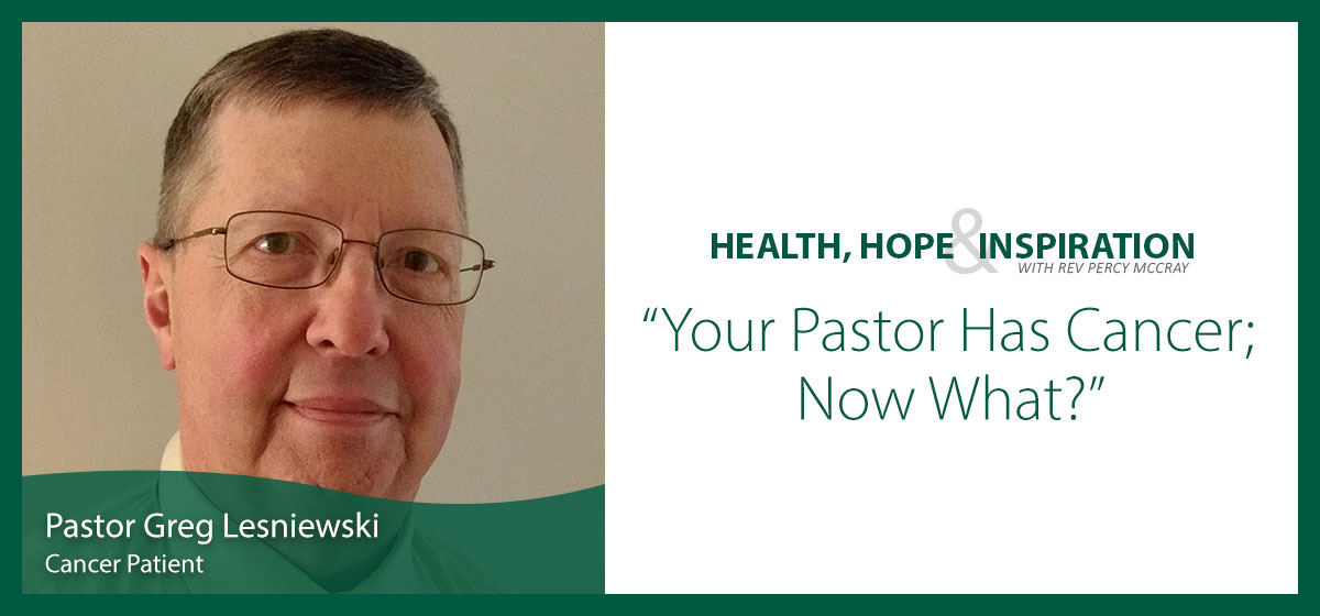 Your Pastor Has Cancer; Now What?