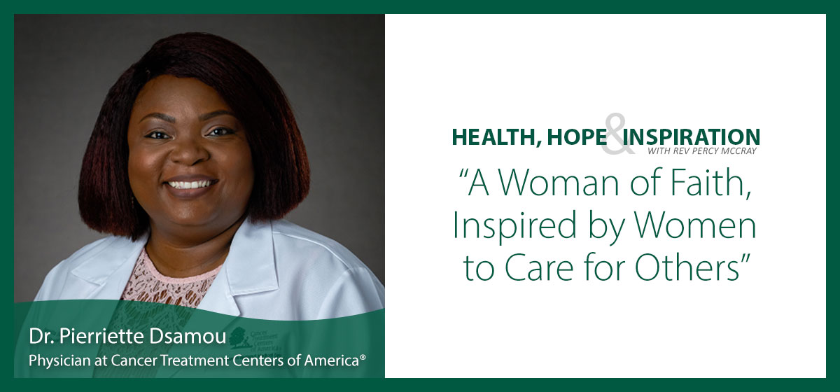 A Woman of Faith, Inspired by Women to Care for Others