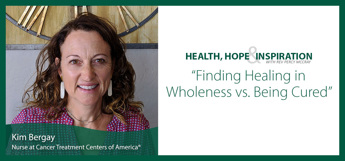 Finding Healing in Wholeness vs. Being Cured