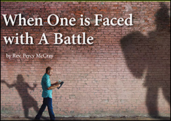 When One Is Faced With a Battle